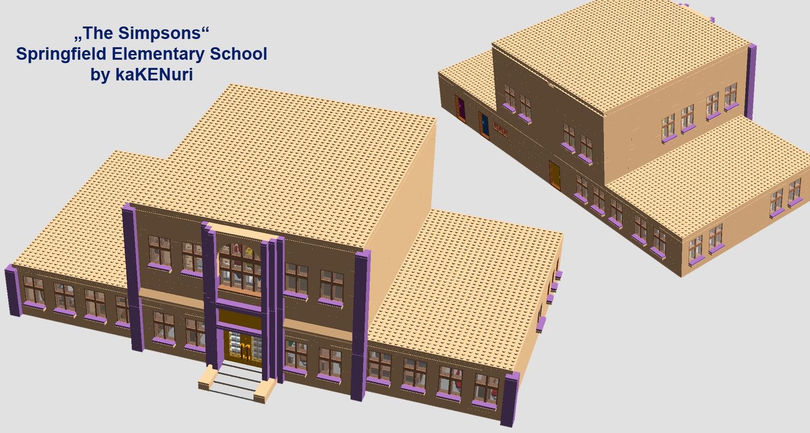 lego ideas - product ideas - simpsons© springfield elementary school