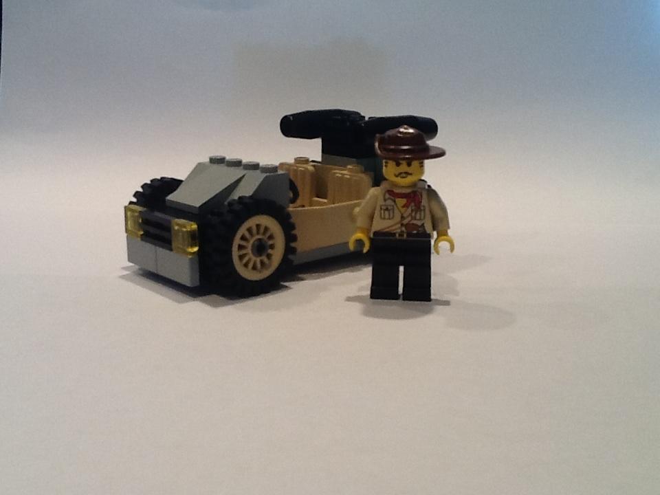 LEGO IDEAS - Product Ideas - Lego Racers Johnny Thunder's Car!