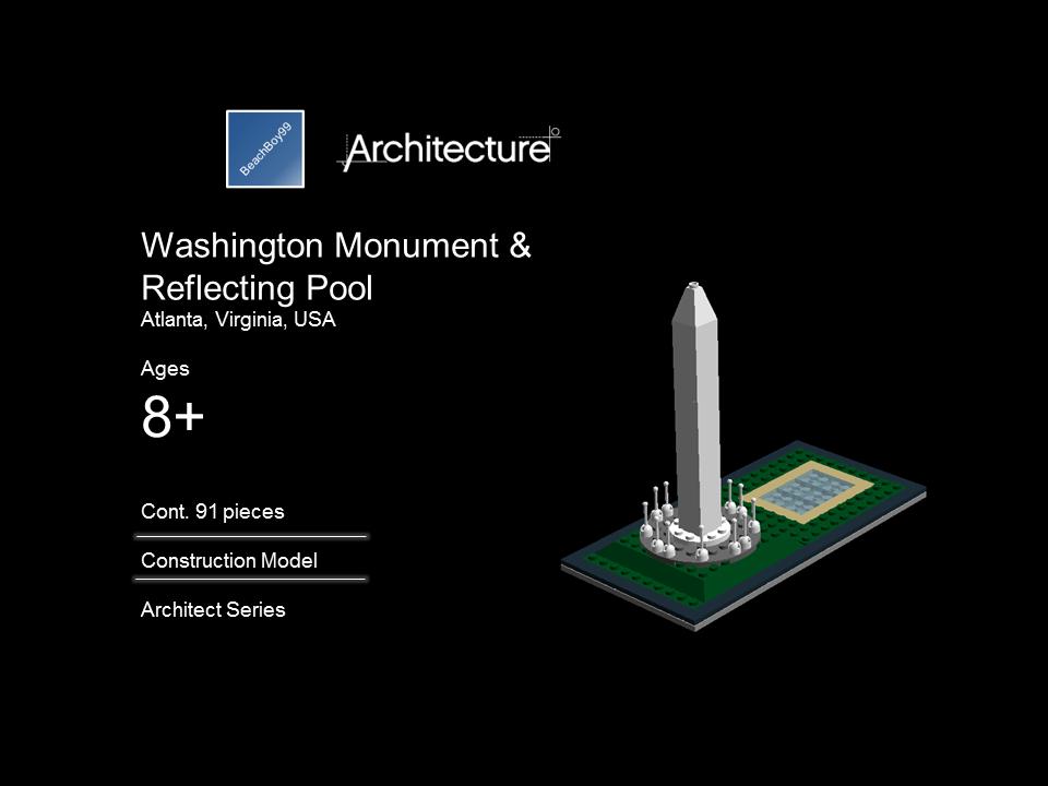 Lego Ideas Product Ideas Architecture Washington Monument