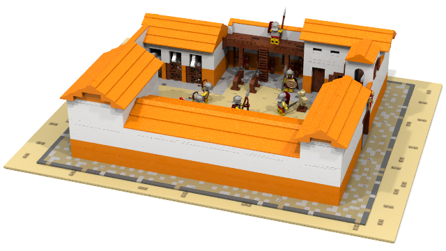 Lego Ideas L M I R Roman Barracks