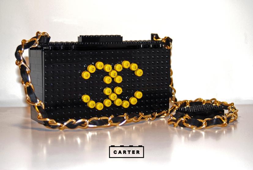 Chanel Inspired Lego Bag