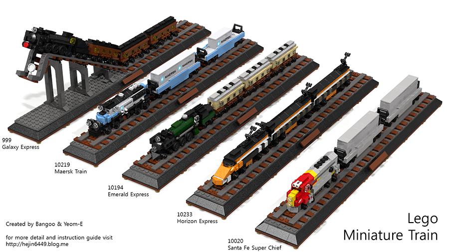 Lego Ideas Product Ideas Miniature Maersk Train Miniature