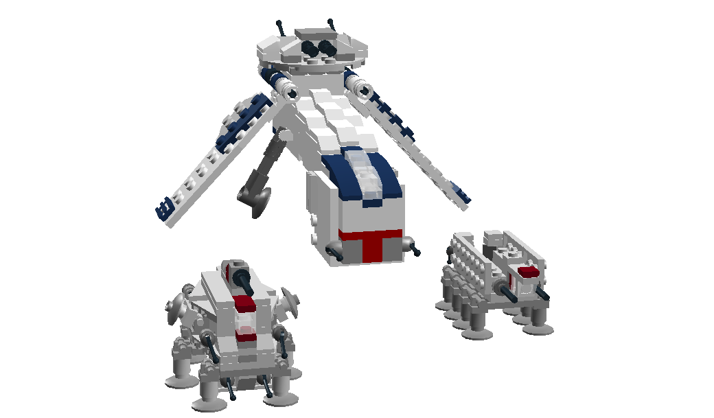 Lego Ideas Product Ideas Mini Republic Dropship Laatc With At