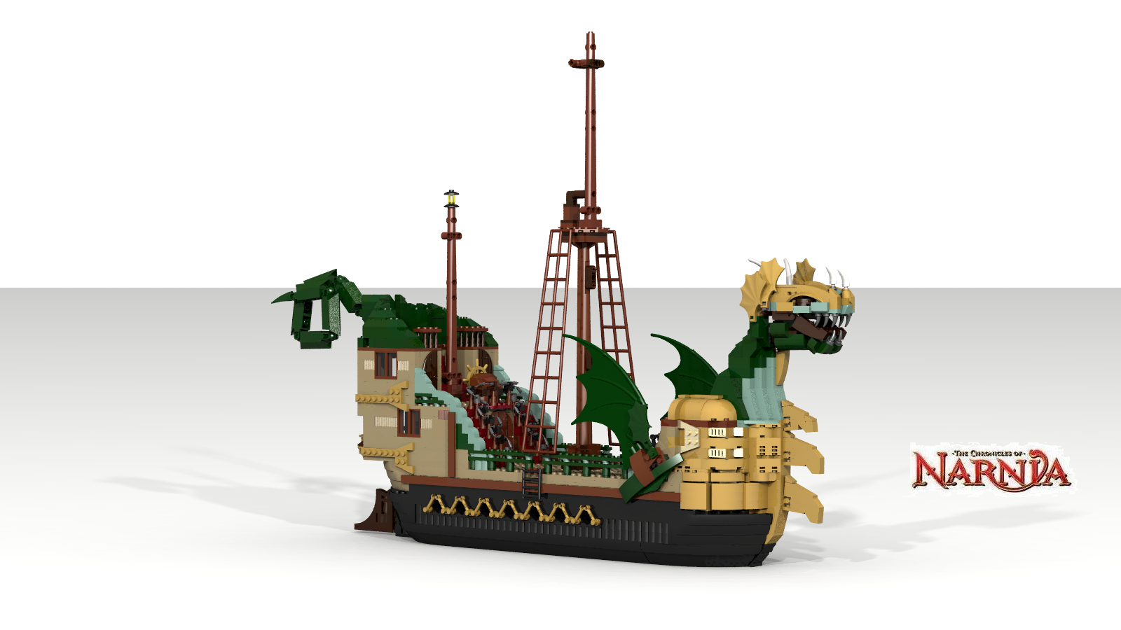 lego ideas product ideas the chronicles of narnia the dawn treader