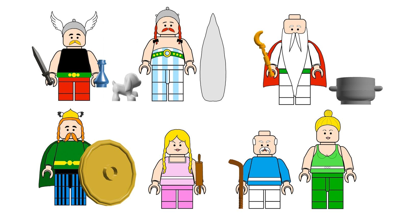 Lego Ideas Product Ideas Asterix Obelix