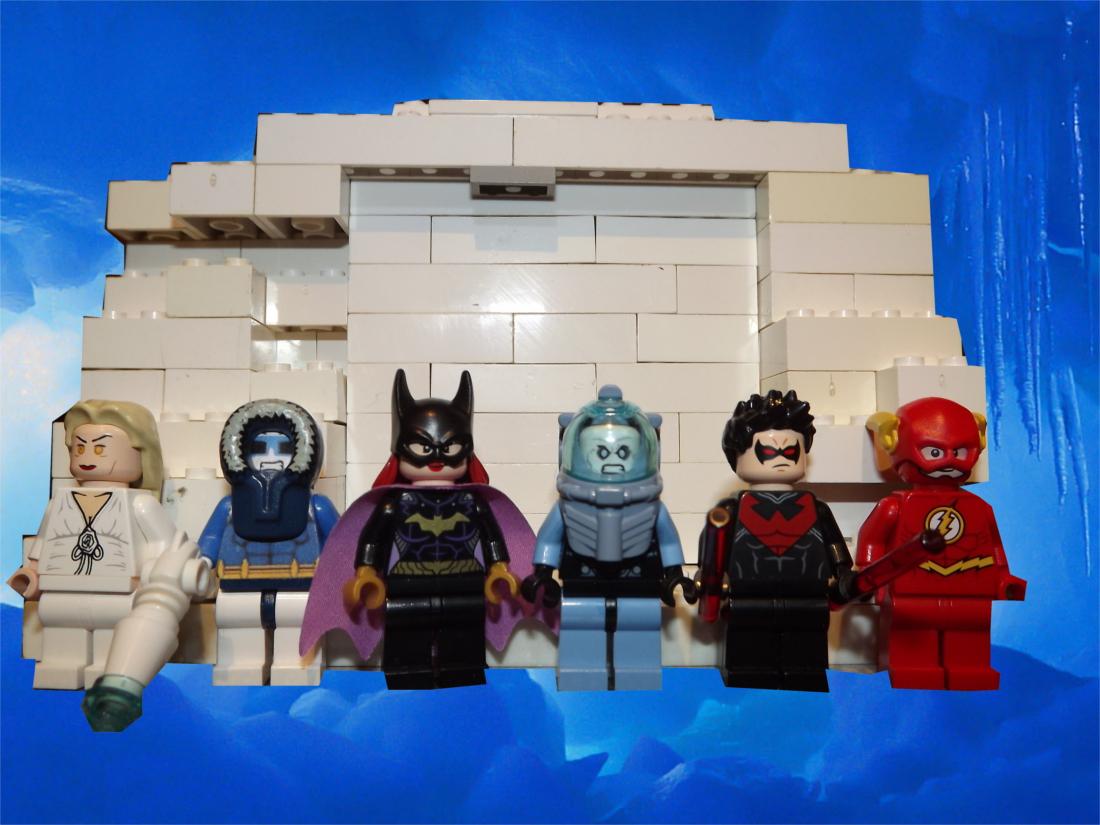 Lego Ideas Lego Batman Mr Freeze S Meltdown
