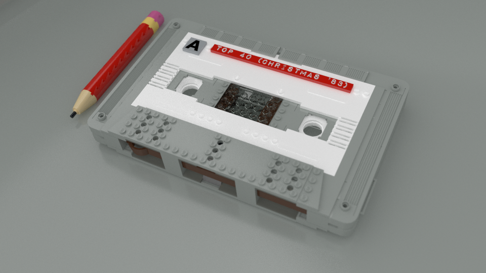 lego ideas product ideas compact cassette with deluxe spool winder