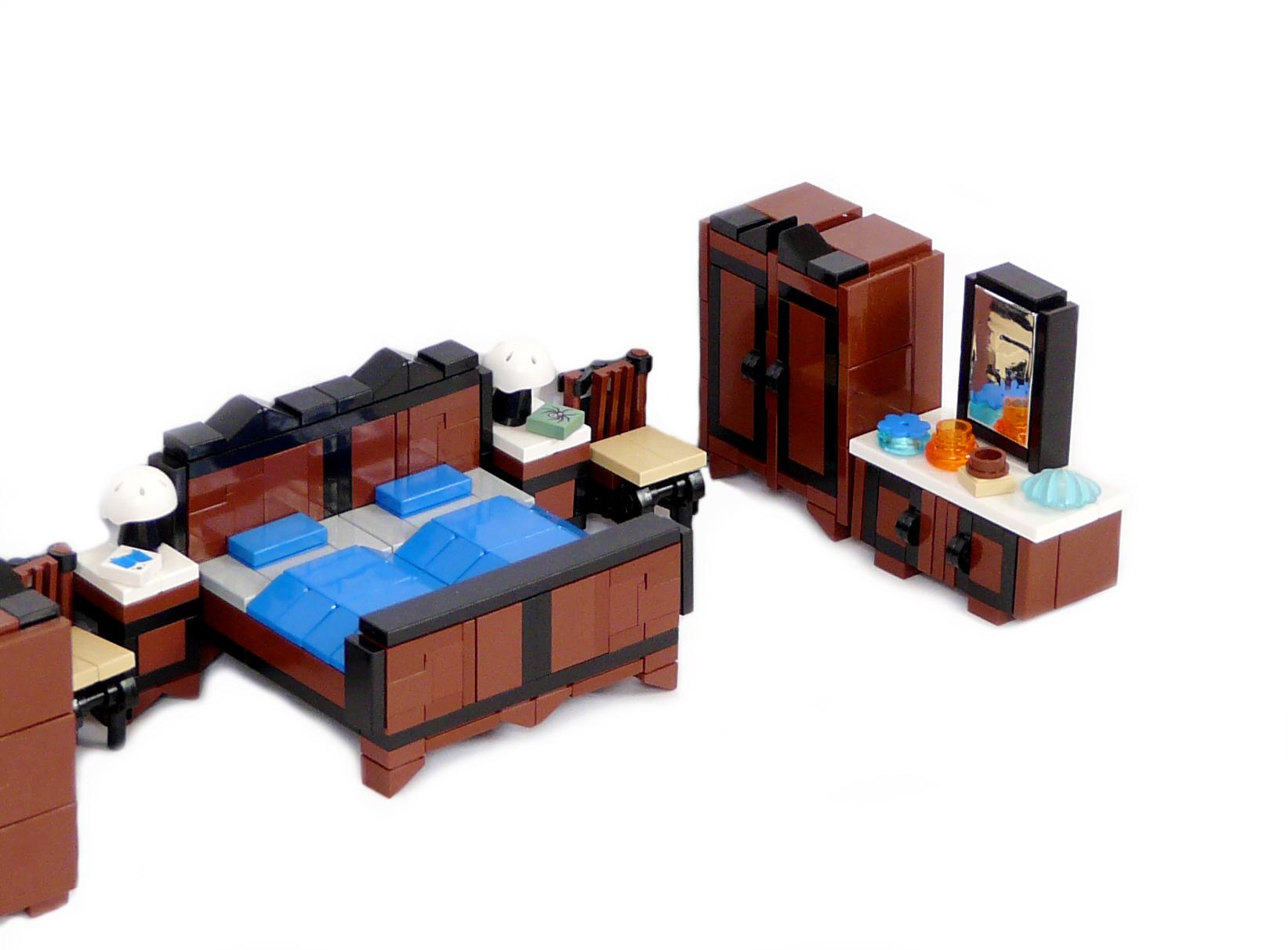 Lego Ideas Product Ideas Minifig Furniture Bedroom