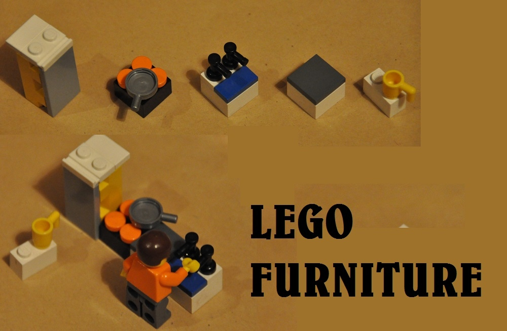 Lego Furniture Design Your House