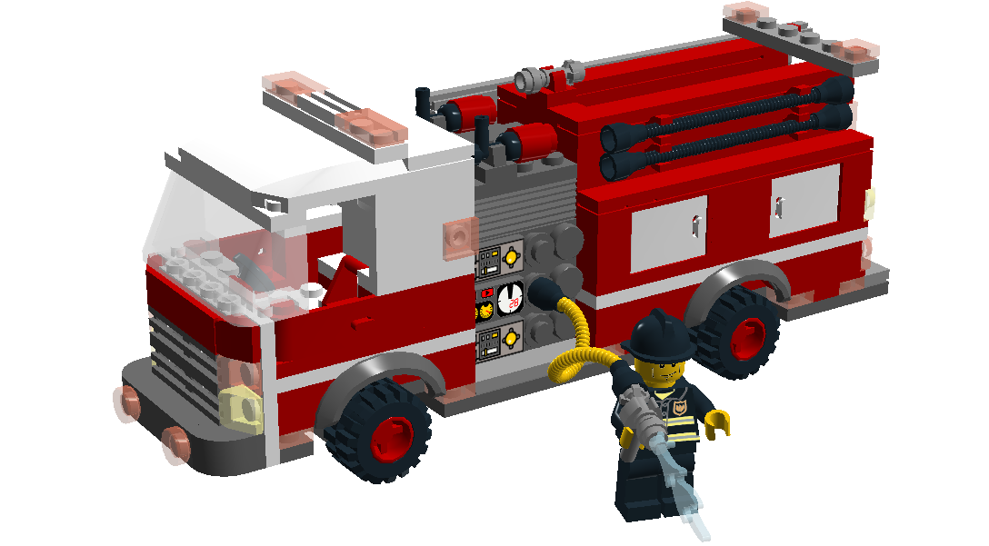 Lego Ideas Product Ideas American Fire Engine