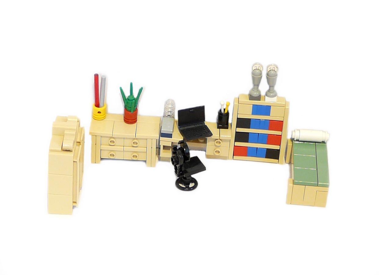 Lego Ideas Product Ideas Minifig Furniture Guestroom