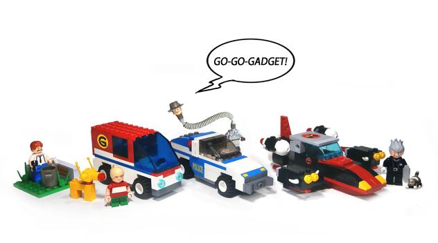 LEGO IDEAS - Product Ideas - Inspector Gadget