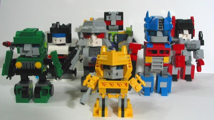 Lego Ideas Product Ideas Mini Bricks Transformers