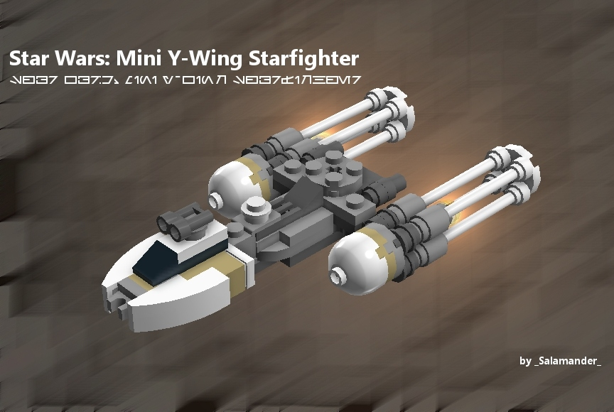 Lego Ideas Product Ideas Star Wars Mini Y Wing