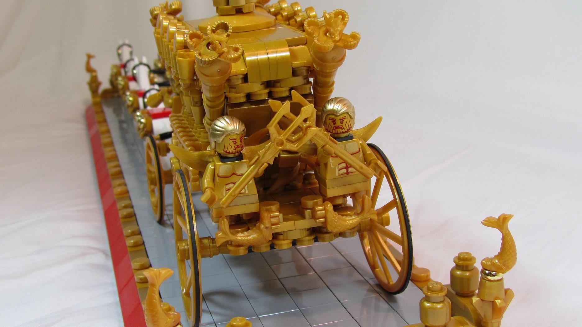 LEGO IDEAS - Queen Elizabeth II & the Gold State Coach