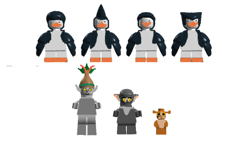 LEGO IDEAS - Product Ideas - The Penguins Of Madagascar: The