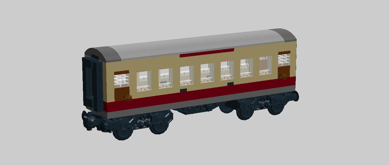 Lego Ideas Product Ideas First Class Train Coach V10