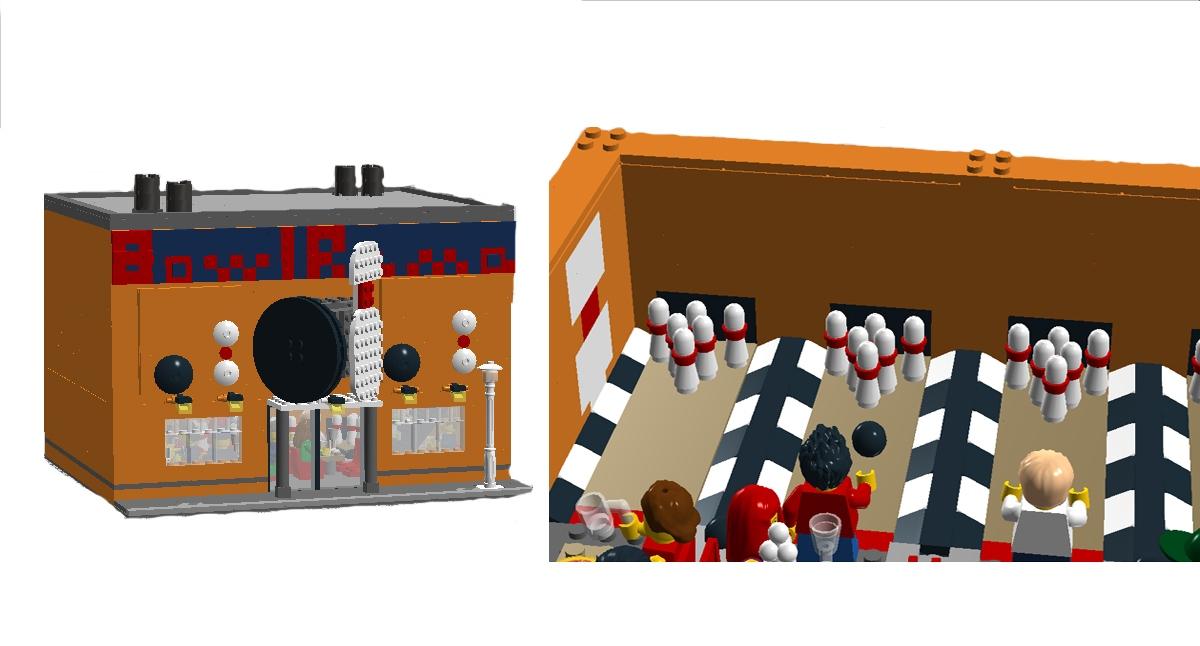 LEGO IDEAS - Product Ideas - CITY Bowling Alley