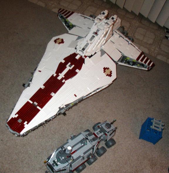 Lego Ideas Product Ideas Ucs Republic Attack Cruiser