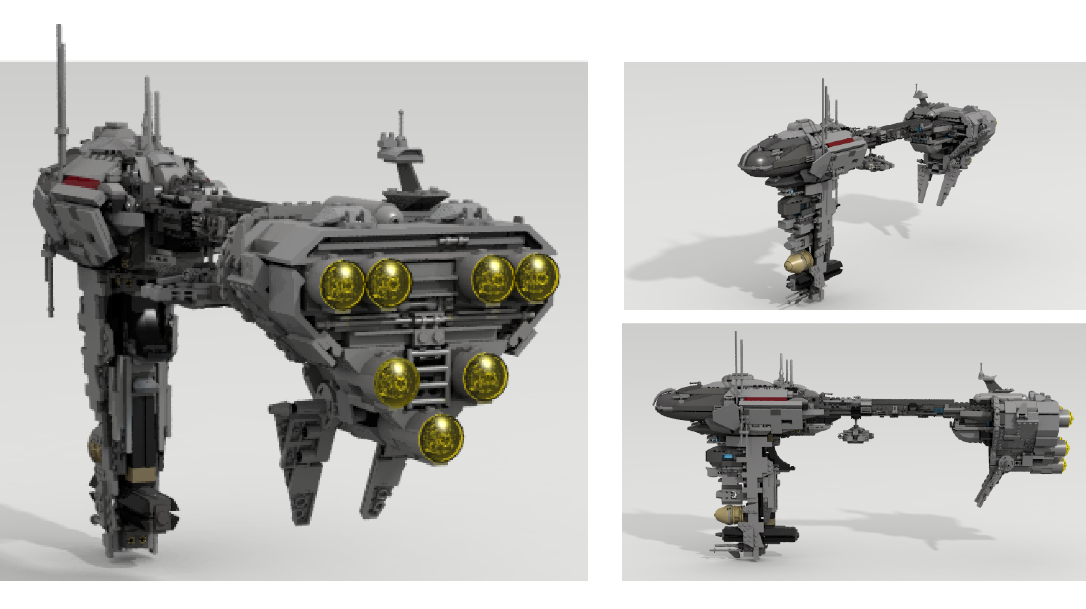 Lego Ideas Product Redemption Nebulon B Escort Frigate 7665 Star Wars Republic Cruiser This Ship Could Be Seen At The End Of Empire Strikes Back And Also In Space Battle Endor Return Jedi