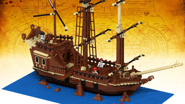 LEGO IDEAS - Product Ideas - The Goonies 30th Anniversary - The Inferno