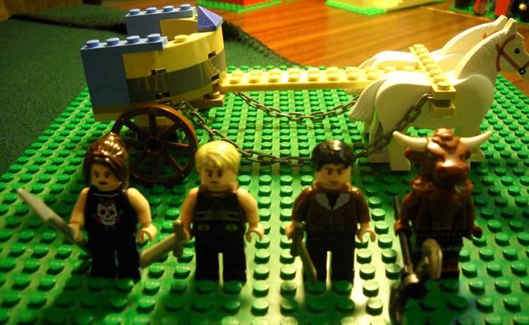 LEGO IDEAS - Camp Half-Blood from Percy Jackson  Lego Percy Jackson Luke