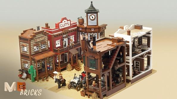 Lego Ideas Product Ideas Modular Western Town