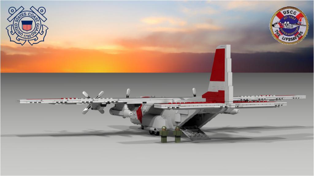 LEGO IDEAS - Product Ideas - US Coast Guard HC-130 Hercules