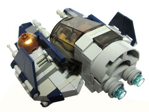 Lego Ideas Product Ideas Chibi Scale Obi Wans Jedi Starfighter