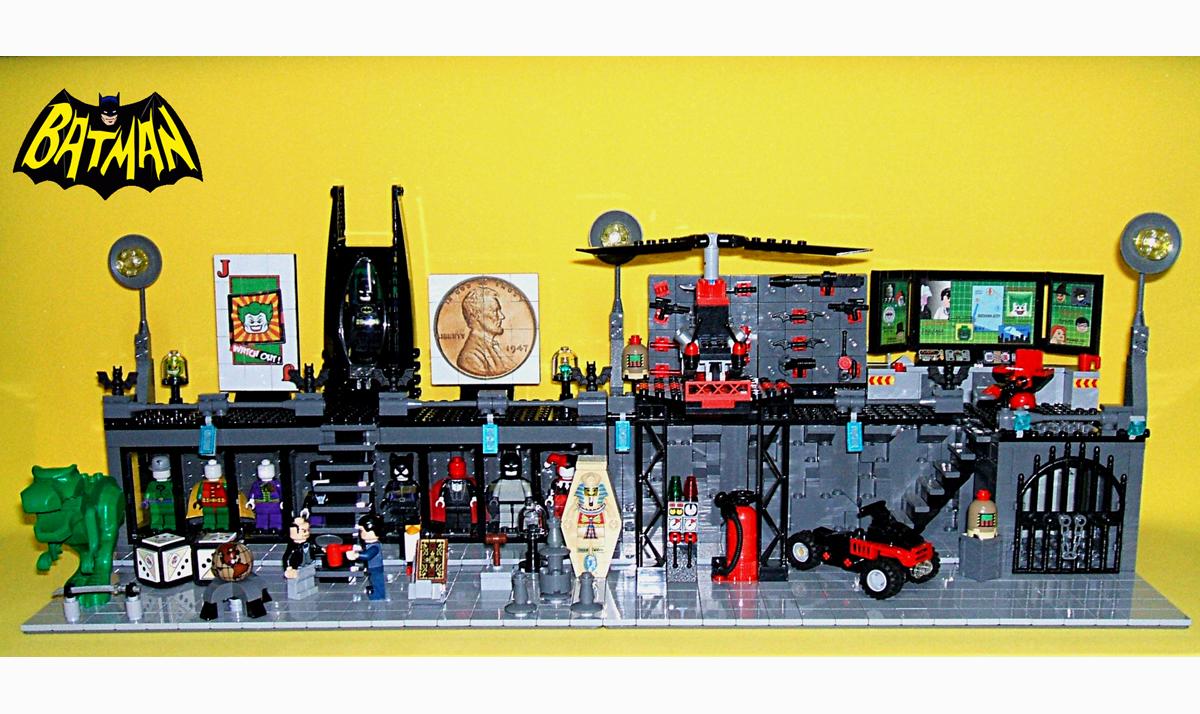 Lego Ideas Product Ideas Batcave Computer Room