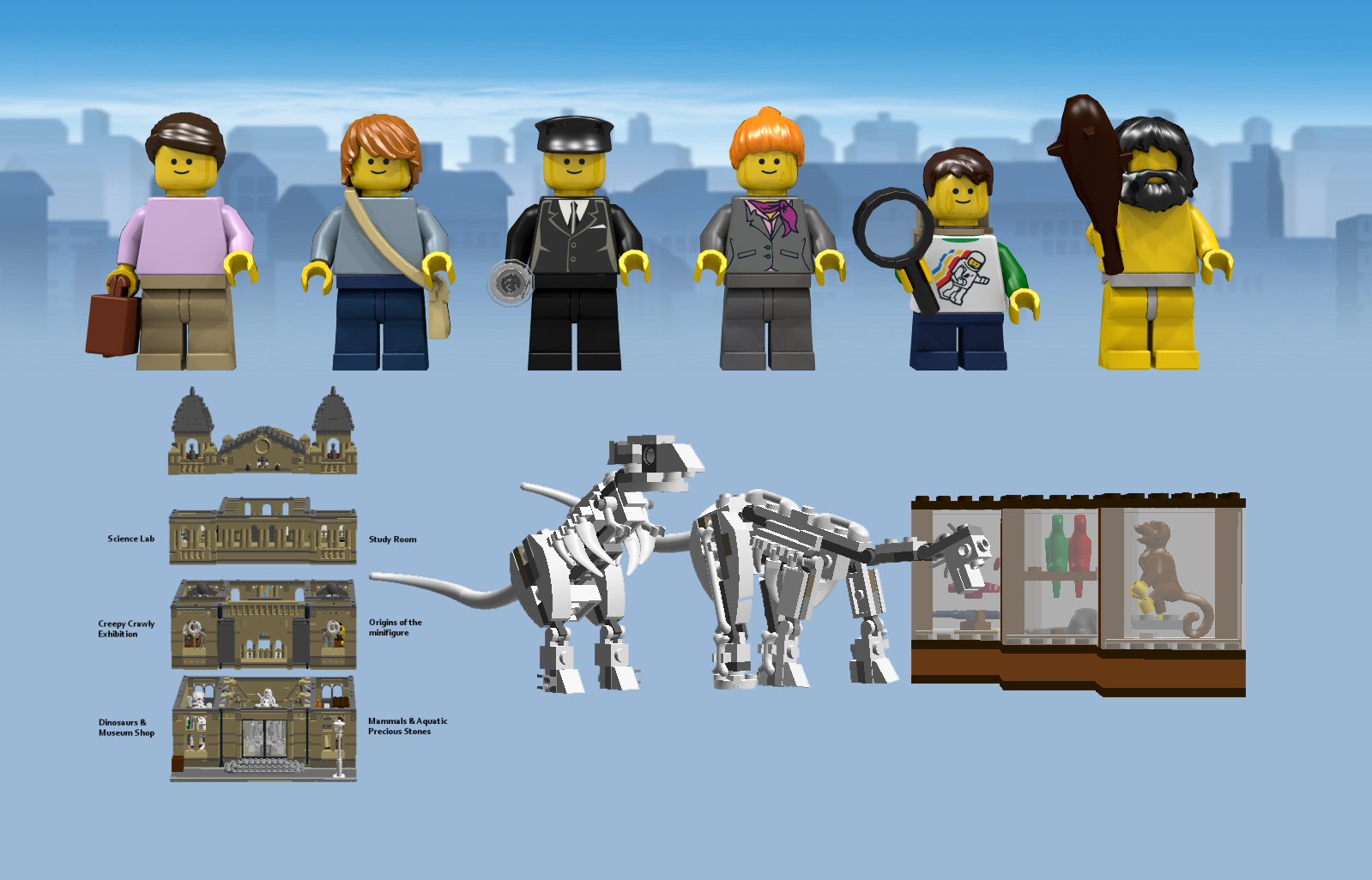 LEGO IDEAS - Product Ideas - The Natural History Museum - Creator Expert