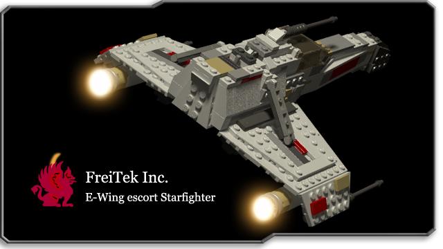 Lego Ideas Product Ideas Star Wars E Wing Escort Starfighter