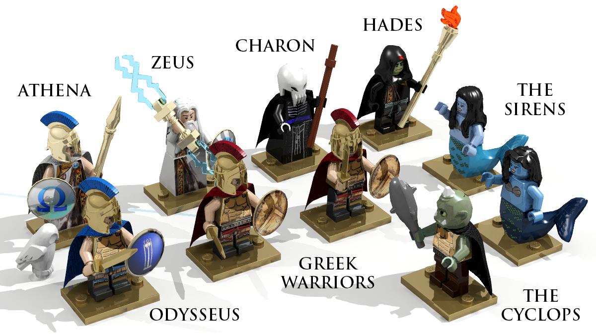 LEGO IDEAS - Product Ideas - Level 2: The Odyssey Begins