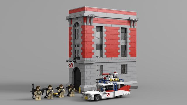 Lego Ideas Product Ideas Ghostbusters Ecto 1ecto 1a Lego City