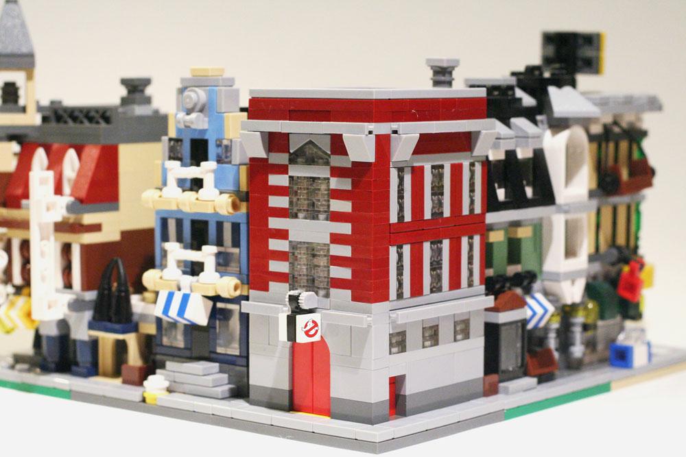 Lego Ideas Product Ideas Mini Modular Ghostbusters Hq