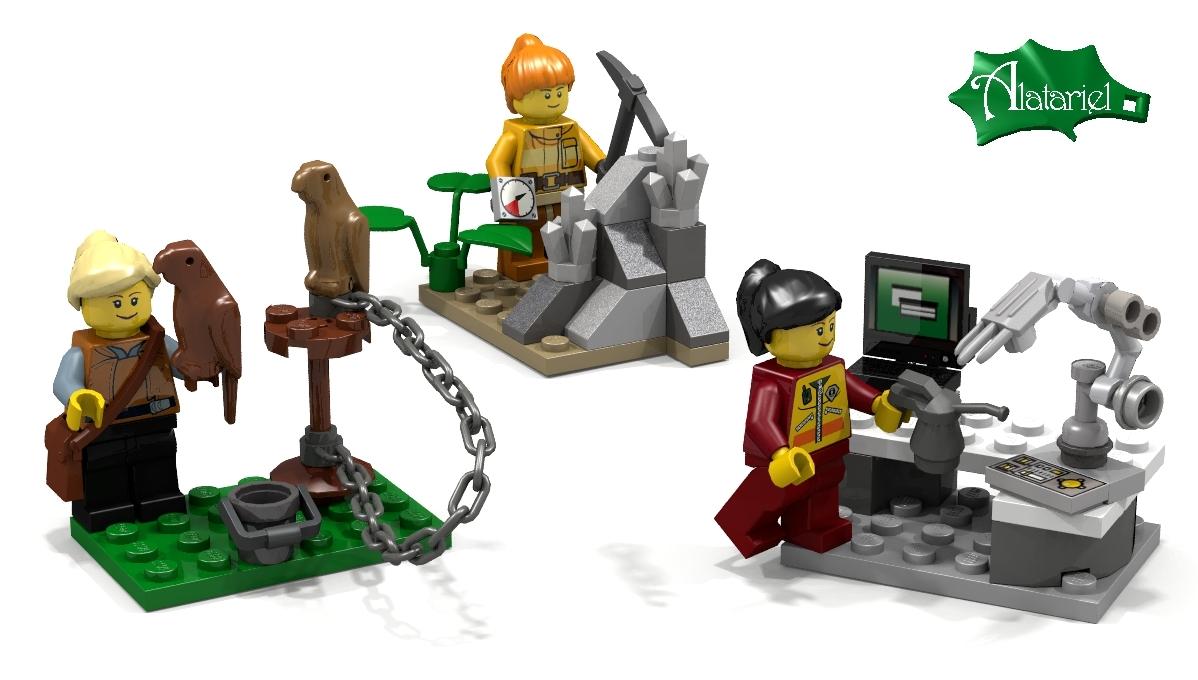 LEGO IDEAS - Product Ideas - Female Minifigure Set
