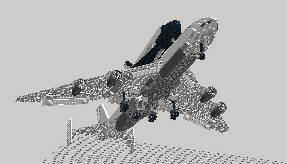 lego space shuttle and plane - photo #24