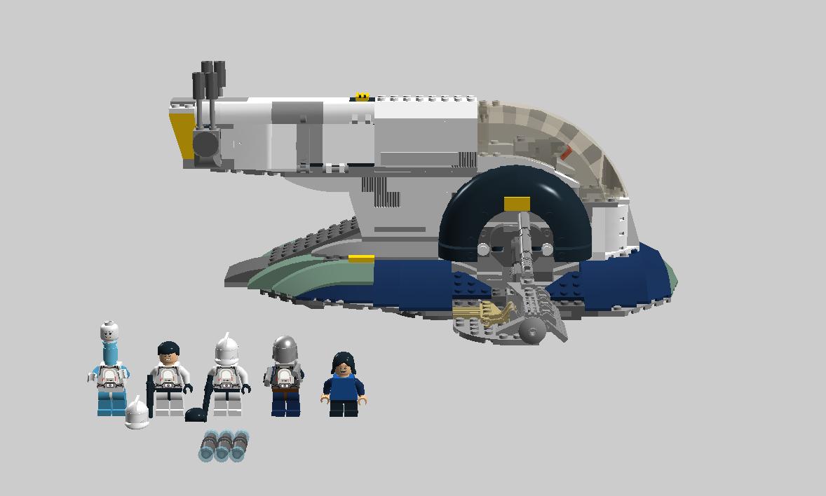 Images Of Lego Boba Fett Slave Ship 1 Rock Cafe
