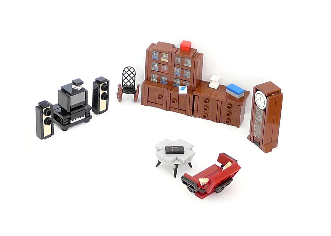 Lego Ideas Product Ideas Minifig Furniture Living Room