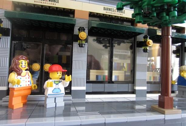 Lego Ideas Barnes Noble And Starbucks Store