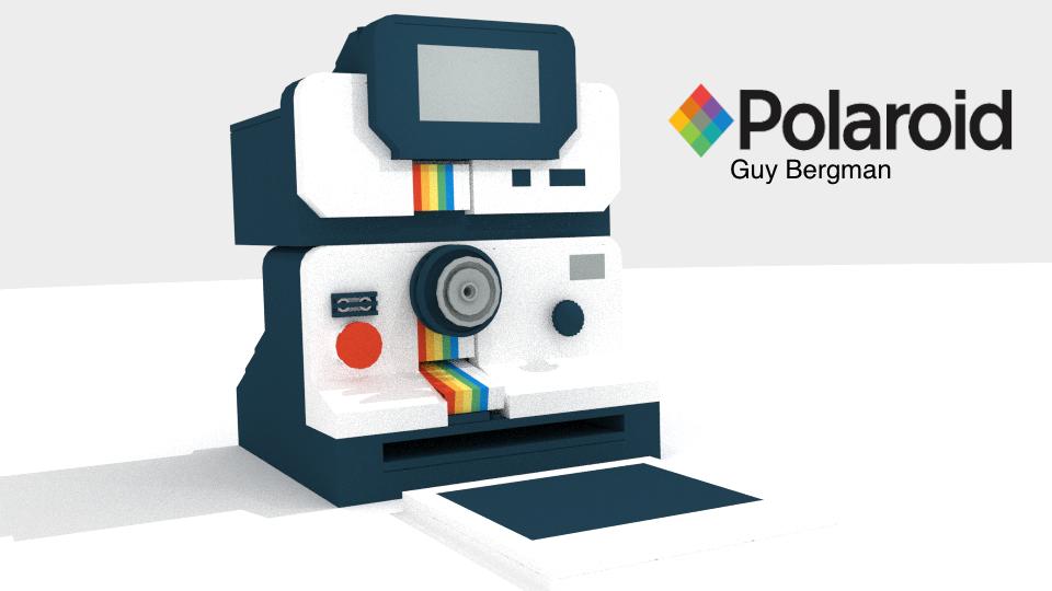 Lego Ideas Product Ideas Vintage Polaroid Camera