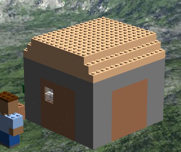 Lego Ideas Minecraft Macro Scale House And Farm