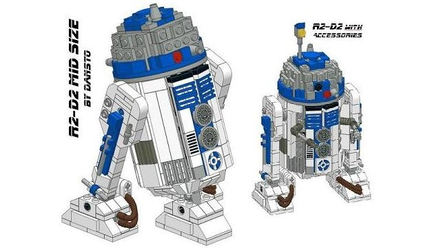 Lego Ideas Product Ideas R2 D2 Mid Size