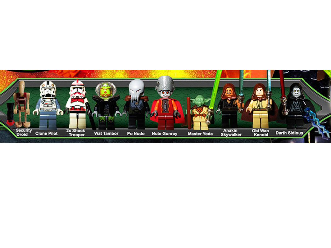 Lego Ideas Lego Star Wars Order 66 Collection Duel Of The Heroes