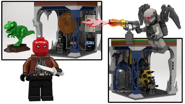 Lego Ideas Product Ideas Assault On Wayne Manor