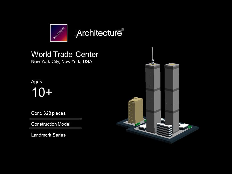 Lego Ideas Product Ideas Architecture World Trade Center