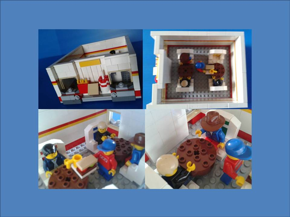Lego Ideas Product Ideas Modular Fast Food