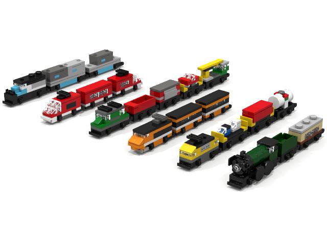 Lego Ideas Product Ideas Classic Micro Trains