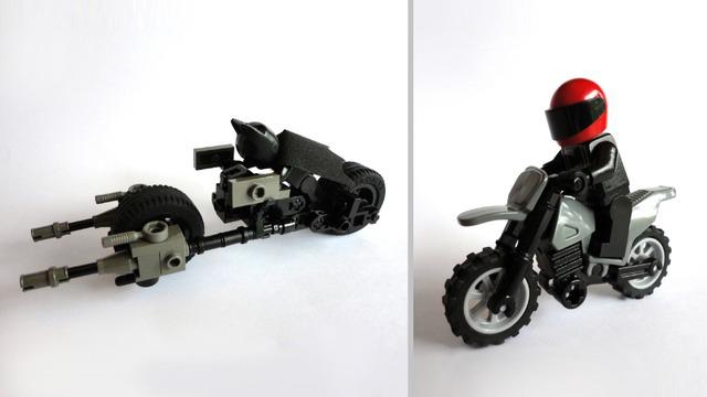 Lego Ideas Product Ideas Batpod And Bane Chase