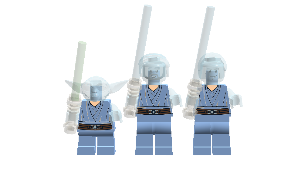Lego ideas product ideas star wars force ghosts and - Lego star wars anakin ghost ...
